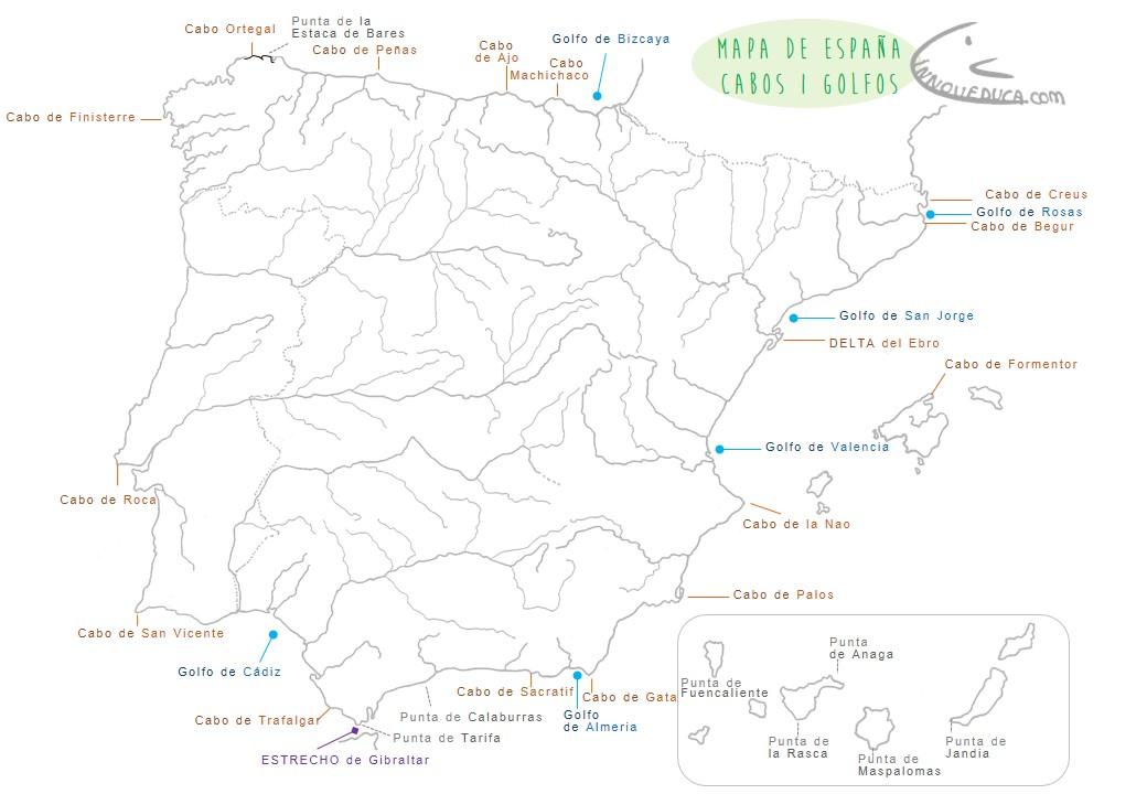 INNOVEDUCA  Mapas de Espaa